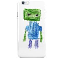 Alien Zombie iPhone Case/Skin