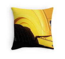 Sunshine Roadster Throw Pillow