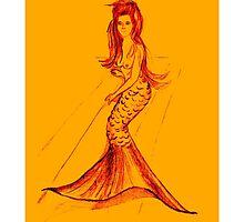 Sweet little mermaid by sonjaangela