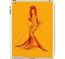 Sweet little mermaid iPad Case/Skin
