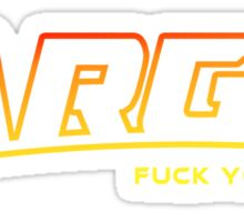 Argo F U (explicit) Sticker