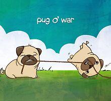 Pug o' War by KickingCones
