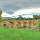 Spanning Time C1825 - Richmond Bridge, Tasmania - The HDR Experience by Philip Johnson