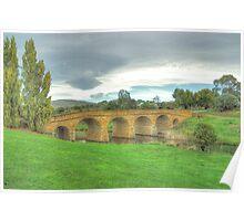 Spanning Time C1825 - Richmond Bridge, Tasmania - The HDR Experience Poster
