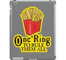 One ring to rule them all iPad Case/Skin