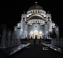 The Orthodox Temple of Saint Sava Belgrade by Aleksandar Topalovic