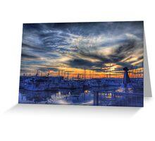 Squalicum Harbor Greeting Card