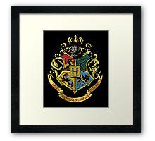 Hogwarts Crest  Framed Print