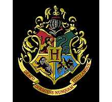 Hogwarts Crest  Photographic Print