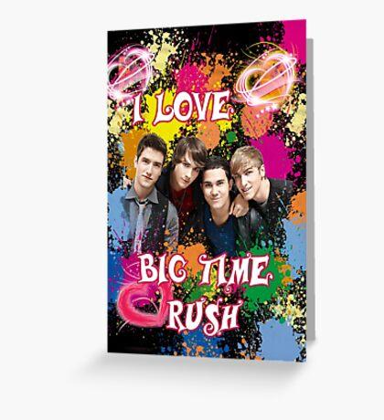 Big Time Rush Greeting Card