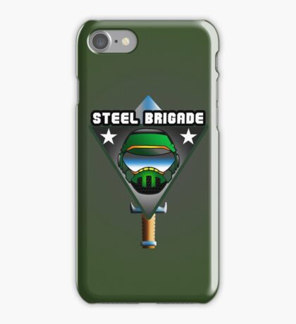 STEEL BRIGADE. iPhone Case/Skin