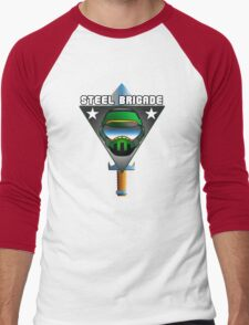 STEEL BRIGADE. Men's Baseball ¾ T-Shirt