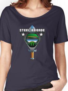 STEEL BRIGADE. Women's Relaxed Fit T-Shirt