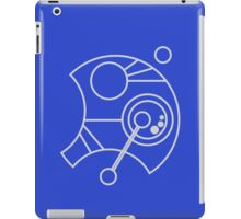 Custom Name in Circular Gallifreyan from Doctor Who (Please message me your name before ordering!)  iPad Case/Skin