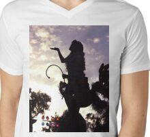 Wandering Free Mens V-Neck T-Shirt