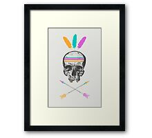 Dead Chief Framed Print