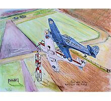 King's Cup Air Race 1950s Photographic Print