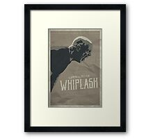 Not My Tempo - Whiplash Framed Print
