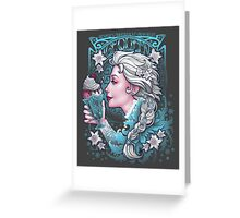Ice Cream Queen Greeting Card