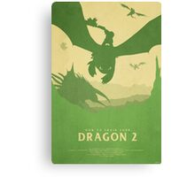 Brotherhood - How to Train Your Dragon 2 Canvas Print