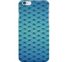Japanese Wave Pattern iPhone Case/Skin