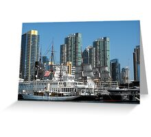 San Diego Shore Greeting Card