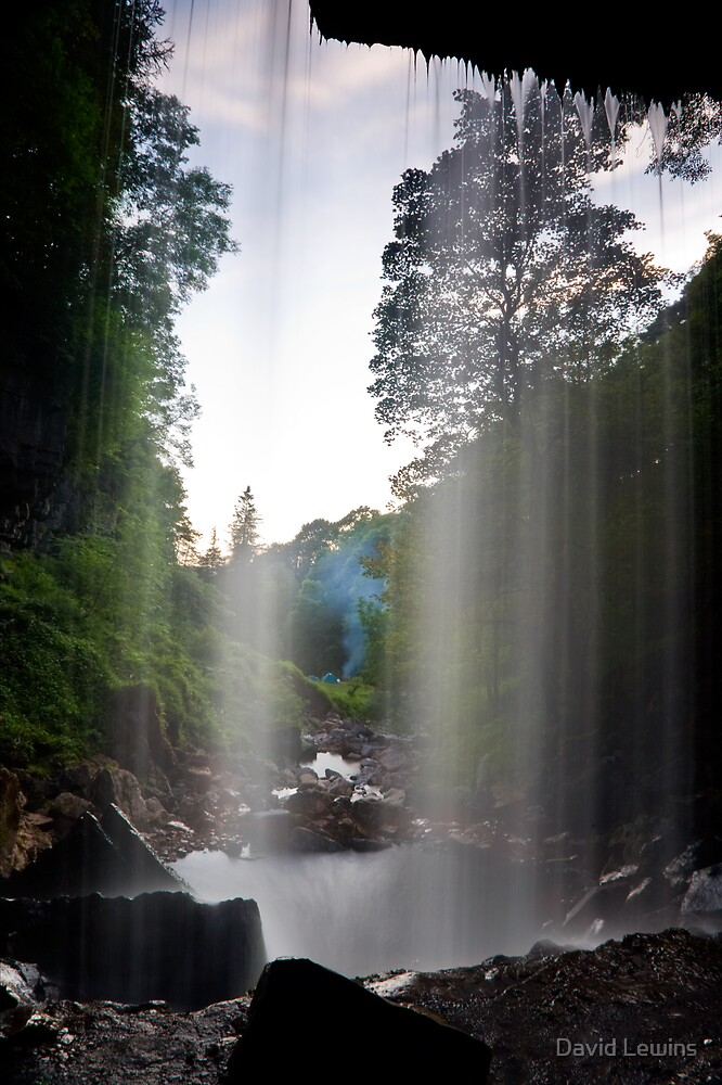 Behind the Water Curtain by David Lewins