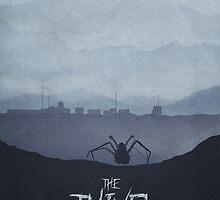Winter - The Thing (1982) Poster by edwardjmoranII