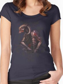 Ready for the fight.... and fate Women's Fitted Scoop T-Shirt
