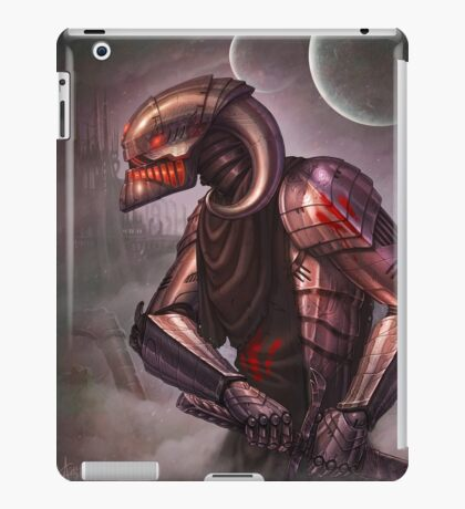 Ready for the fight.... and fate iPad Case/Skin