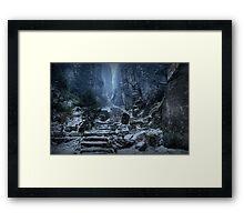 Emperor's Passage, Prachov Rocks Framed Print