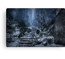 Emperor's Passage, Prachov Rocks Canvas Print