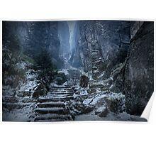 Emperor's Passage, Prachov Rocks Poster
