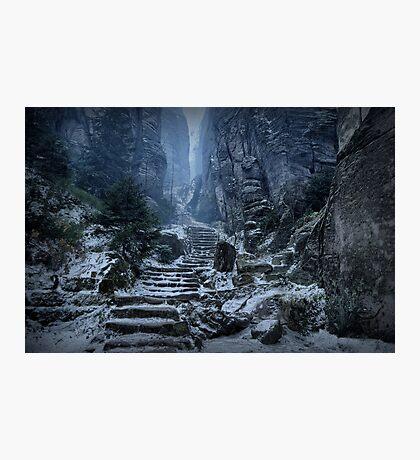 Emperor's Passage, Prachov Rocks Photographic Print