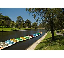 River Torrens, Adelaide Photographic Print