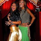 Neighbours TV Stars at Bollywood Ball by Peter  Downing