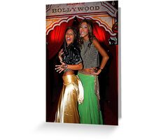 Neighbours TV Stars at Bollywood Ball Greeting Card