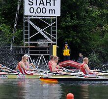 Lightweight four start at Lucerne by Nick GARRATT