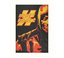 Scorpion - Mortal Kombat X Art Print