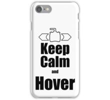 RC-Keep Calm Hover iPhone Case/Skin