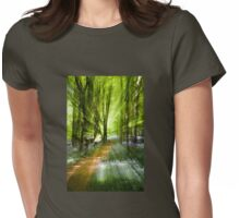 The Magical Path Womens Fitted T-Shirt