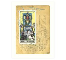 The Chariot Tarot Card Art Print