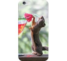 Happy Hour Squirrel iPhone Case/Skin