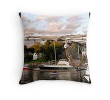 Maine-The Way Life Should Be Throw Pillow