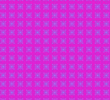 Pink pattern design by Josephine Mulholland