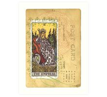 The Empress Tarot Card Art Print