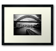 Towards the sea and beyond Framed Print