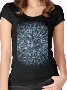 Dandelion Up Close Women's Fitted Scoop T-Shirt