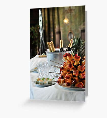 Appetizer Greeting Card