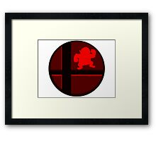 Smash Bros. Wario Framed Print